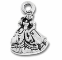 Antique Silver Princess Charm