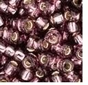 TOHO 8/0 Seed Bead:  Silver-Lined Amethyst (10g)