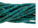 4mm Blue-Green Heshi Chinese Turquoise 16 inch Strand