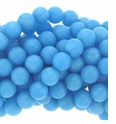 Turquoise Candy Jade 8mm Beads 16 inch Strand