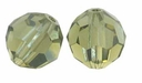 Khaki Swarovski 5000 4mm Crystal Beads (10PK)
