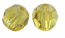 Lime Swarovski 5000 4mm Crystal Beads (10PK)