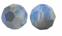 White Opal Sky Blue Swarovski 5000 4mm Crystal Beads (10PK)