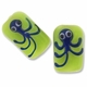 Octopus Green Lampwork Bead  (2PK)