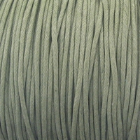 Lt. Khaki 1.5mm Waxed Cotton Craft Cord (1YD)