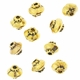 Antiqued Gold 5mm Saucer Beads (10PK)