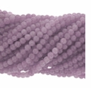 4mm Purple Aventurine Round Beads 16in Strand