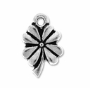 Pewter Silver Four Leaf Clover Charm