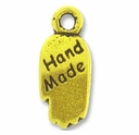 Antique Gold Hand Made Charm