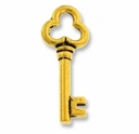Antique Gold Key Charm