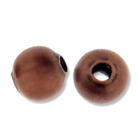 Antiqued Copper 6mm Round Beads (50PK)