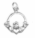 Claddagh Sterling Silver Charm
