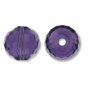 Majestic Crystal®  Violet 8mm 96-Facet Round Crystal Beads (12PK)
