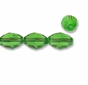 Majestic Crystal® Green 6x8mm Faceted Oval Crystal Beads (12PK)