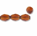 Majestic Crystal® Smokey Topaz 6x8mm Faceted Oval Crystal Beads (12PK)