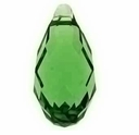 Majestic Crystal® Olivine 12x6mm Faceted Crystal Pendants (10PK)