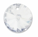Majestic Crystal® 16mm Crystal Clear Round Diamond Pendant (2PK)