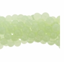 6mm Chrysoprase Round Glass Beads 16 Inch Strand