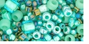 TOHO Take Seafoam Green Seed Bead Mix