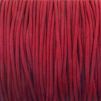 Red 1.5mm Waxed Cotton Craft Cord (1YD)