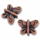 Antiqued Copper Butterfly II Beads (1PC)