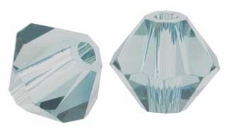 Indian Sapphire 5328 4mm Swarovski Crystal XILION Bicones Beads (10PK)