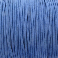 Periwinkle 1.5mm Waxed Cotton Craft Cord (1YD)