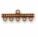 Antique Copper Beaded 5-1 Link