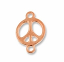 Antique Copper 5/8� Peace Link