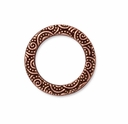 Antique Copper 3/4 Spiral Ring""