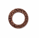 Antique Copper 5/8 Spiral Ring""
