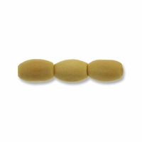 Natural 8x5mm Oval Wood Beads (100PK)