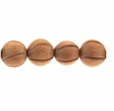 12mm Rosewood Round Beads w/Groove (5 PK)