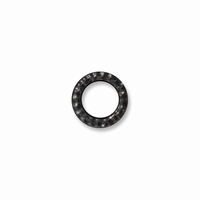 Black Finish Sm. Hammertone Ring Link