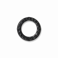 Black Finish Med. Hammertone Ring Link
