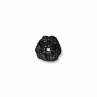 Black Finish Jasmine Bead Cap