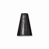 Black Finish Tall Radiant Cone