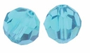 Indicolite Swarovski 5000 6mm Crystal Beads (10PK)
