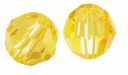 Light Topaz Swarovski 5000 6mm Crystal Beads (10PK)