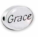 Grace Sterling Silver Message Bead
