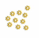 4mm Gold Vermeil Daisy Spacer (10PK)