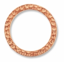 Copper Hammertone Large Ring