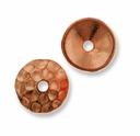 Copper Plated Hammertone 8mm Cap