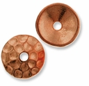 Copper Plated Hammertone 10mm Cap