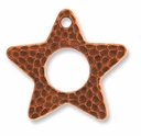 Copper Plated Hammertone Star
