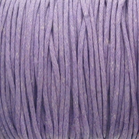 Lavender 1.5mm Waxed Cotton Craft Cord (1YD)