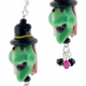 Green Witch Lampwork Earrings Design Kit