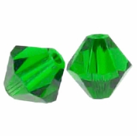 Fern Green 5328 3mm Swarovski Crystal XILION Bicones Beads (50PK)