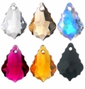16x11mm  Baroque Swarovski Crystal Pendants
