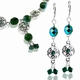 Celtic Princess Necklace & Earring Jewelry Design Kit
